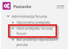 ukini pretplatu na forum